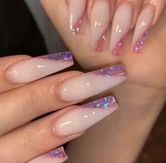 20 latest trendy pink color coffin nails styles in autumn and winter - ibaz if you like pink color coffin nails styles or long nails styles, it must be useful for you, we collected about 20 pink color coffin nails st Summer Acrylic Nails, Best Acrylic Nails, Summer Nails, Colored Acrylic Nails, Pink Acrylics, Spring Nails, Nail Swag, Fabulous Nails, Gorgeous Nails