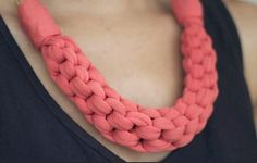 DIY: Straight Knot Necklace - Bauce Magazine