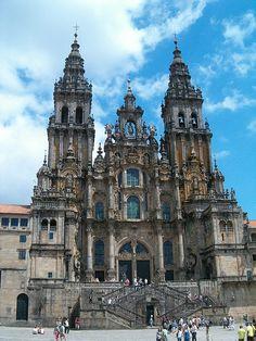 Cathedral of Santiago de Compostela, Galicia | Spain (by sedoglia)