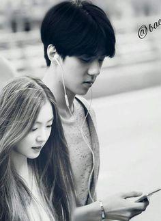 Sehun Irene Sehun Irene, Ohana, Best Couple, Love Birds, Red Velvet, Fairytale, Ships, Korean, Goals