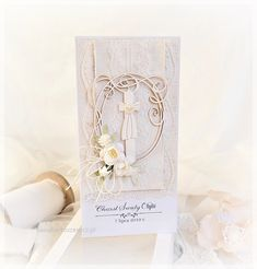 Christening, Place Cards, Place Card Holders
