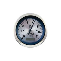 "Teleflex Sterling Series 3"" Tachometer 63474P - https://www.boatpartsforless.com/shop/teleflex-sterling-series-3-tachometer-63474p/"