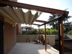 Pergotenda PT45 - •PERGOTENDA® 45 RESTYLING è la struttura in legno evergreen della collezione Corradi, che valorizza l'outdoor grazie al contrasto con l´ambiente circostante. Pergotenda® 45, disponibile...