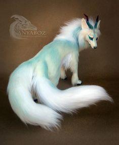 Asha the Wolf Yokai Room Guardian by AnyaBoz on DeviantArt