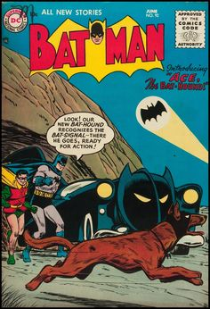 Don't let the BAT Hound get hit by the BAT Mobile while it's running across that BAT road. Bat.