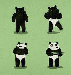 Quand les ours préparent un braquage