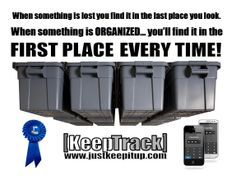 Keep Track Storage Solutions NEW! DIY 24 Tote Overhead Garage System (Totes Sold Separate)measure your headroom and see our fitment chart image Overhead Garage Storage, Garage Storage Solutions, Garage Organization, Organization Ideas, Plastic Storage Totes, Tote Storage, Diy Garage, Garage Ideas, Garage Systems