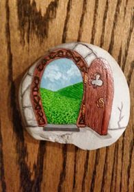 Open door stone!