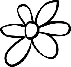 Shape Collage, Red Daisy, Flower Images, Flower Patterns, Applique, Shapes, Flowers, Clever, Number