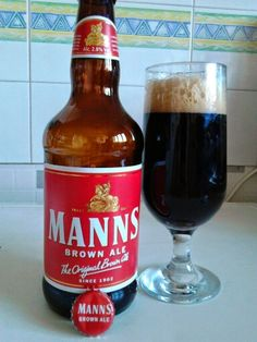 No 46 beer Manns Brown Ale from England