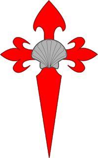 The Cross of Saint James, Santiago San Santiago, Cross Clipart, St James The Greater, Tree Tat, Sign In Sheet, St Jacques, Rando, Saint James, Shell Crafts