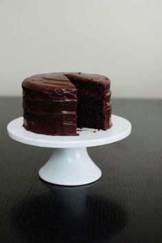 Chocolate Fudge Cake---good old fashioned, plain and simple, simply delicious chocolate cake