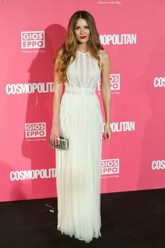Elena Ballesteros attends the Cosmopolitan Fun Fearless Female Awards