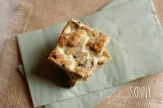 I used to make a non-healthy version of these bars from a recipe a friend gave me.  The original recipe used store bought refrigerated cookie dough and a filling made from cream cheese, egg and sug…