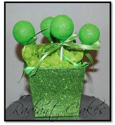 Sparkle Cake Pops by RadiantCakes on Etsy, $34.00