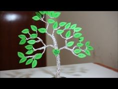 HOW TO MAKE A FAMILY TREE FOR KIDS | Aluminum foil craft ideas | Simple Frugal Life - YouTube