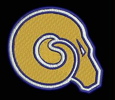 Albany State University Embroidered Patch