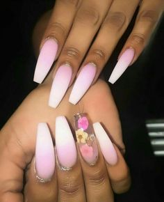 Pretty pink floral tips  Follow Chanel Monroe  for more top notch