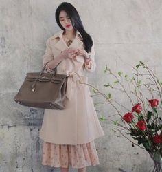 風衣 | 『Milkcocoa』 正韓代購 官網驗證 優雅側影春季風衣-MISS MISA | Yahoo拍賣