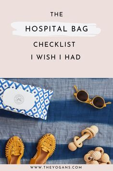 This is the best hospital bag checklist for new mamas and all mamas to be. This is a list of hospital baby essentials and postpartum care needs. This is a no frills list of what you actually need in your hospital bag.