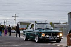 BMW 2002 with BBS RS and coilovers
