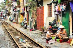 The Backyard Trains of Hanoi By Kaushik