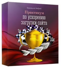 Инфобизнес Гарницына: Ускорение сайта
