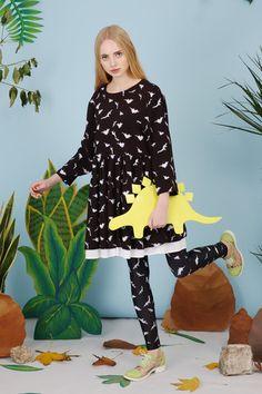 Dinosaur Smock Dress