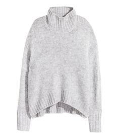 Knit Turtleneck Sweater | Warm in H&M