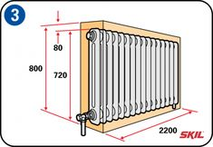 You can make your interior more attractive with a radiator housing. It's easy to make a housing yourself, with these step-by-step instructions and handy tips. Diy Craft Projects, Home Projects, Diy Radiator Cover, Industrial Kitchen Design, Living Styles, Home Cinemas, Home Staging, Home Renovation, Diy Furniture