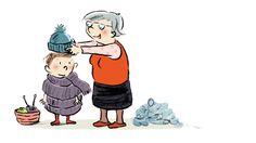 Melanie Laibl / Susanne Göhlich: Verkühl dich täglich. Mixtvision. #kinderbuch #winter #wolle #freunde #humor #spass