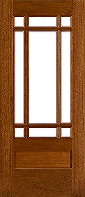 Front Door - Craftsman Mahogany Entry Door 2791 by International Door and Latch & front doors   is a Craftsman Mission style door with a prarie 9 ... Pezcame.Com