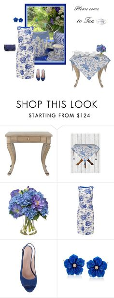 """Untitled #1480"" by milliemarie ❤ liked on Polyvore featuring Safavieh, Diane James, Phase Eight, Ross-Simons and Brahmin"