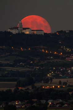 Blessed with full Moon by Péter Busa