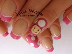 Toadette Nails <3
