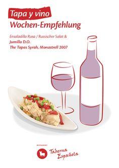 Entdecken Sie die kulinarische Tapas Tapas, Restaurant, Food, Olivier Salad, Mediterranean Kitchen, Eten, Restaurants, Meals, Dining Room