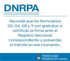 DNRPA, Motov, MaqAgr y CP | Ministerio de Justicia y Derechos Humanos | Presidencia de la Nación