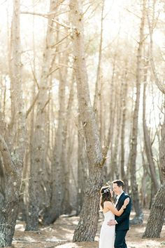 Beachside Pre-wedding session captured by Kate Grewal - via Magnolia Rouge