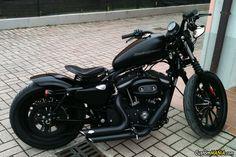 Harley Davidson Sportster XL883N Iron CustomMANIA.com