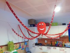 Polvo (trabalho de grupo) - Thema water in huis - Vbs Themes, Ocean Themes, School Decorations, School Themes, Fish Activities, Ocean Unit, Under The Sea Theme, Ocean Crafts, Vacation Bible School