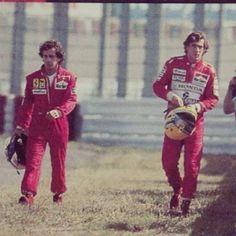 Senna vs. Prost, 1990 at Suzuka.