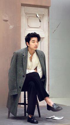 Goblin-Gong Yoo-K Drama_id-Subtitle Asian Actors, Korean Actors, Lee Dong Wook Wallpaper, Goblin Korean Drama, Goblin Gong Yoo, Goblin Kdrama, Yoo Gong, Boy Celebrities, Korean Men