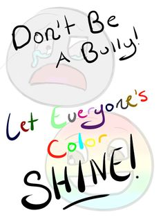 Anti-Bullying Poster Ideas | ... art projects promote anti ...