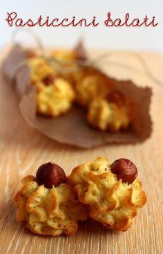 Pasticcini salati: patate e nocciole