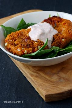 Southwest Sweet Potato Patties