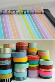 masking tape...could make a lot of bracelets with these