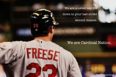 Those amazing Cardinal Nation ads inspired me, so here's my own version. :-)