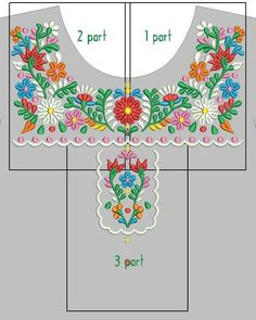 Machine embroidery design – Mexican dress for girl Digitized Mexican Design Flowers Machine Embroidery Designs, Embroidery Stitches, Embroidery Patterns, Hand Embroidery, Sewing Patterns, Needlepoint Stitches, Funny Embroidery, Mexican Embroidery, Chinese Embroidery