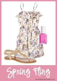 Floral Spring Outfit