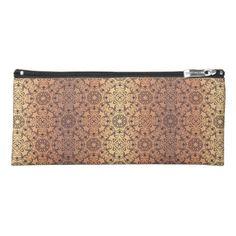 Floral luxury royal antique pattern pencil case - patterns pattern special unique design gift idea diy